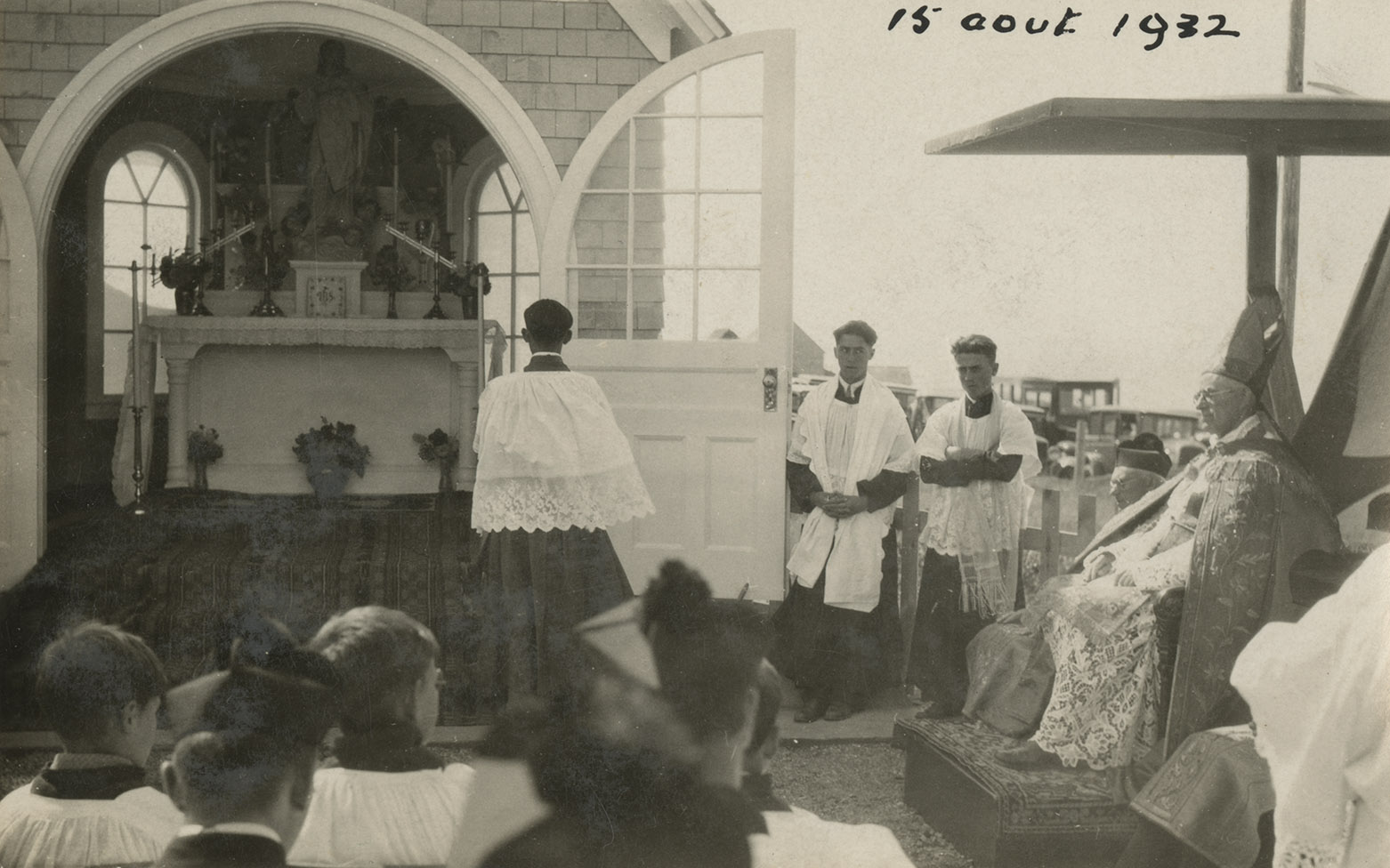Blessing of the commemorative chapel