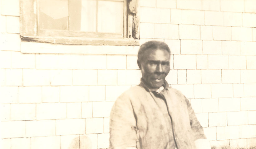 Africanns : John Farmer, descendent of Jupiter the slave, Birchtown, Shelburne County