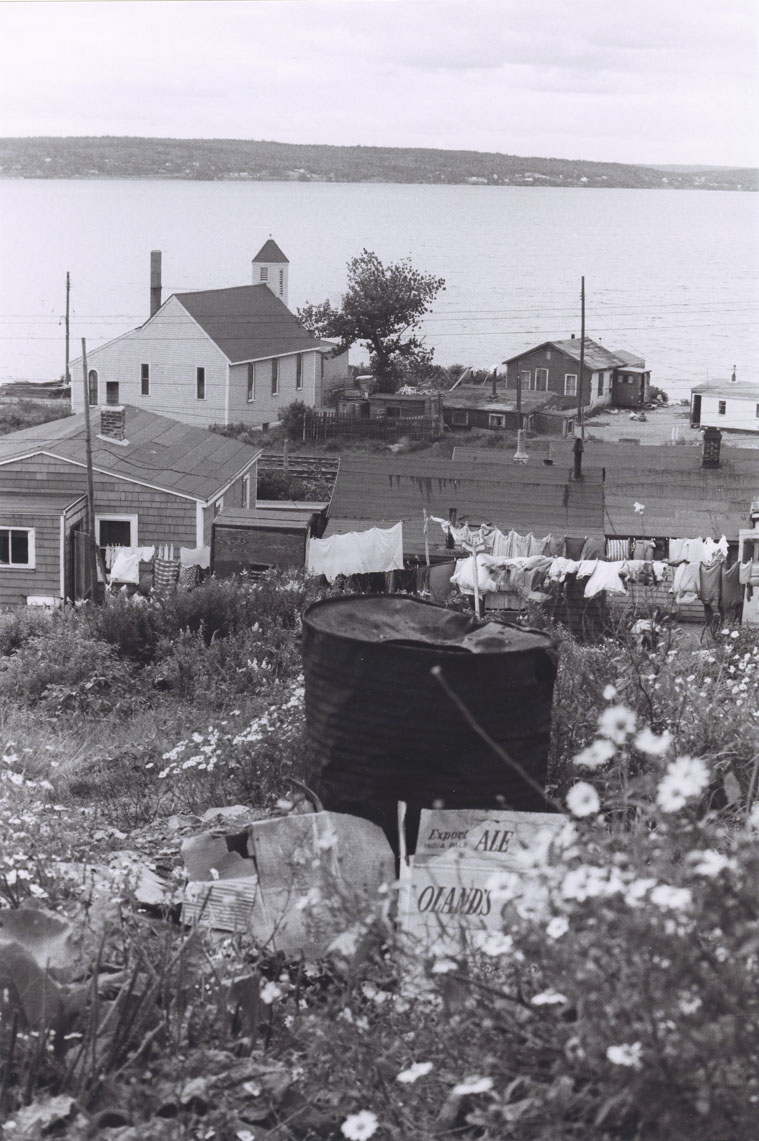 View overlooking the back of Seaview African United Baptist Church, Africville