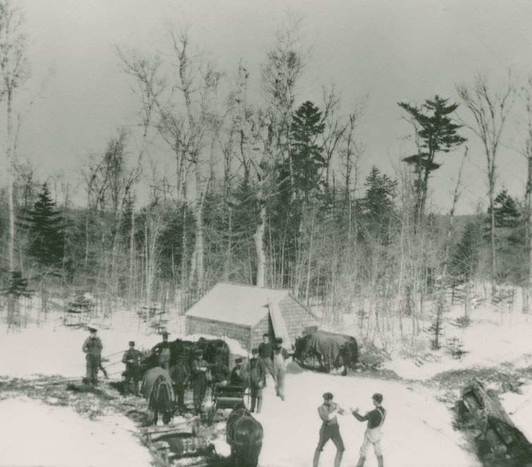 Logging crew – Nova Scotia