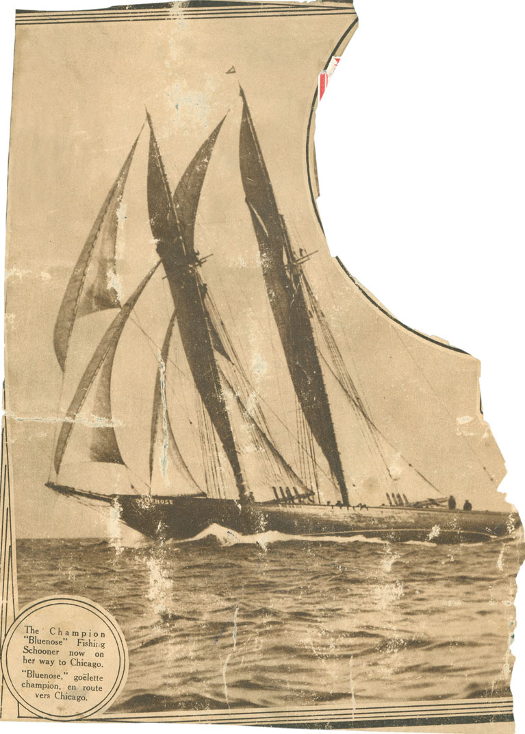 Scrapbook on <i>Bluenose</i>