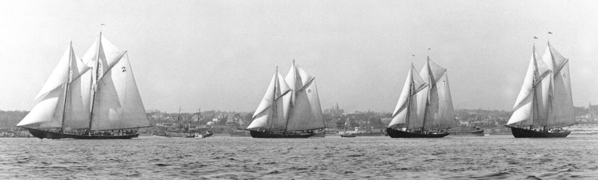 International Fisherman's Cup Elimination Races, Halifax Harbour, 1921