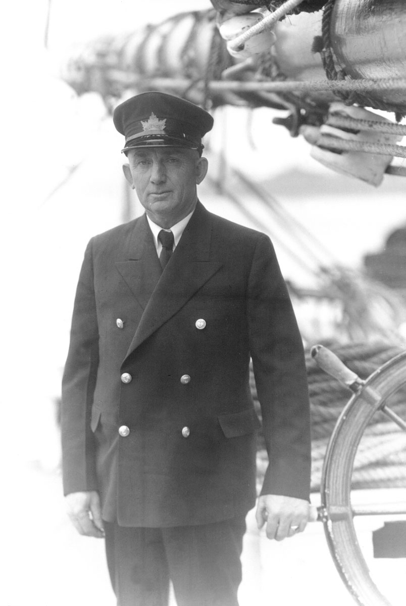 Captain Angus Walters in uniform worn to the 1933 World's Fair in Chicago