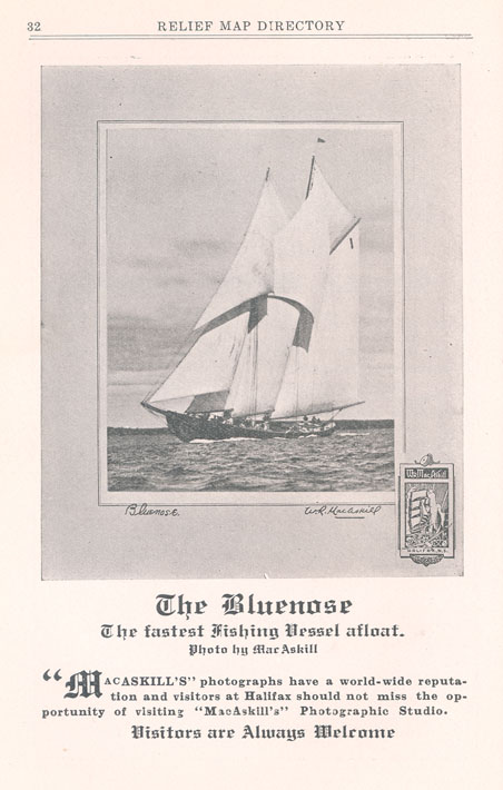 <i>The Bluenose</i> – The Fastest Fishing Vessel Afloat