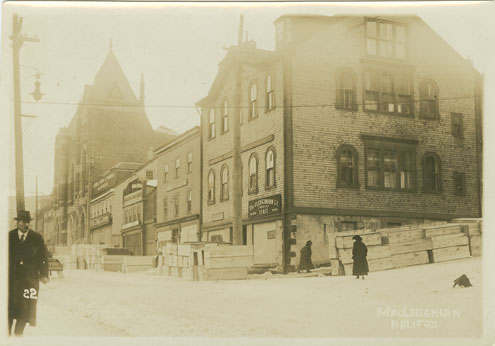 Builtheritage : Argyle Street at the Corner of George Street, Halifax,