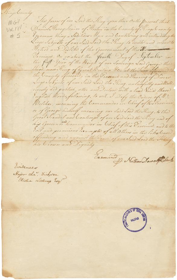 king george iii papers