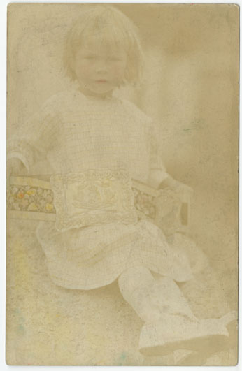 ''Child With George Brown's Rowing Belt''