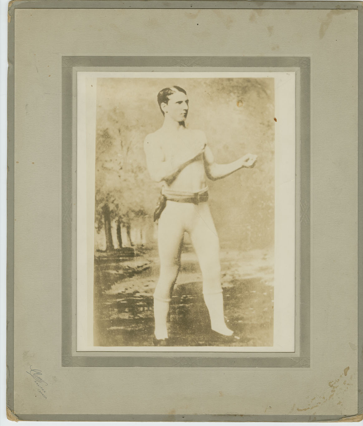 Unidentified Boxer