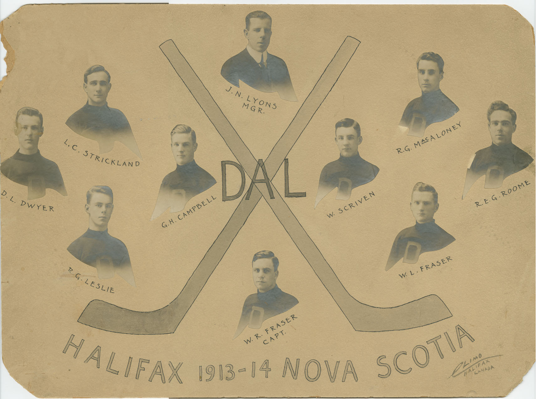 Dalhousie Hockey Team