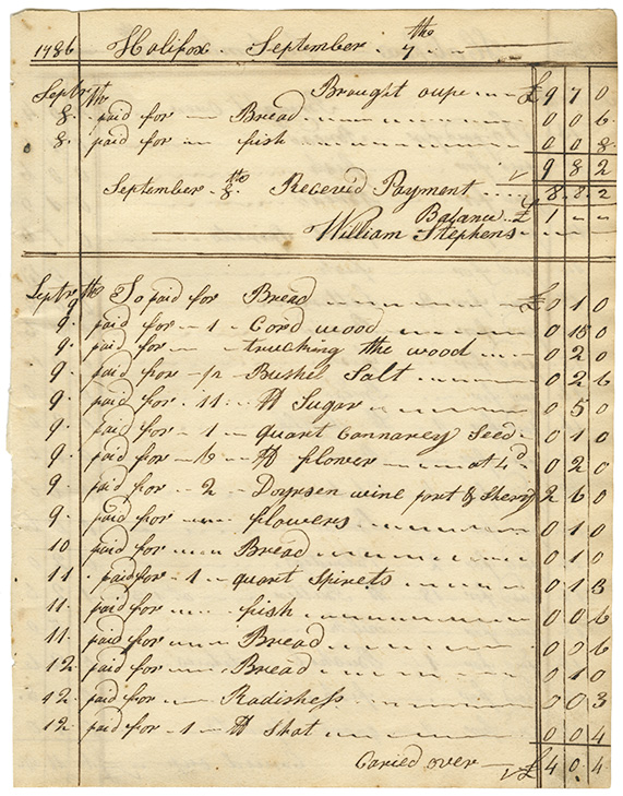 Cooking : Expenses for Mrs. Wentworths house page 3