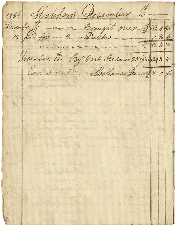 Cooking : Expenses for Mrs. Wentworths house page 27