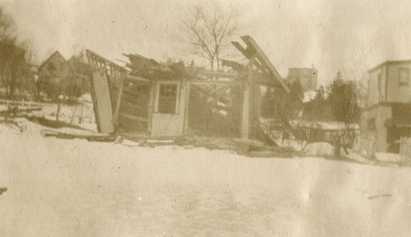 Store in north end of Dartmouth after Halifax Explosion