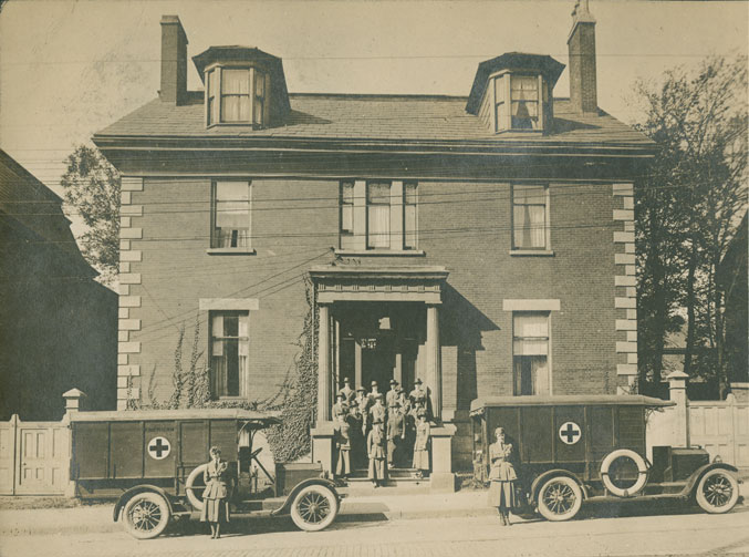 American Red Cross Canteen, Halifax.