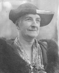 Portrait of Clara Dennis