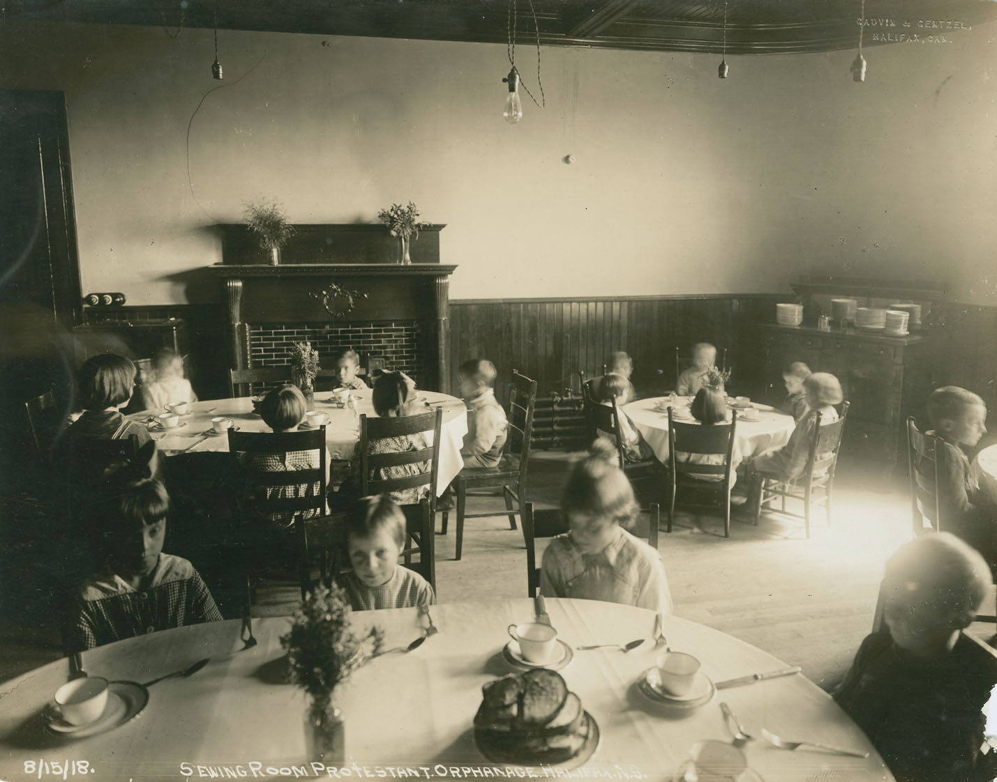 Explosion : Sewing-room [sic], Protestant Orphanage, Halifax, N.S.