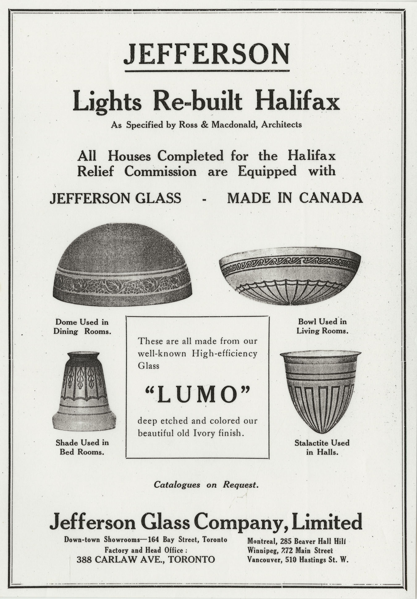 Advertisements by companies involved in the reconstruction