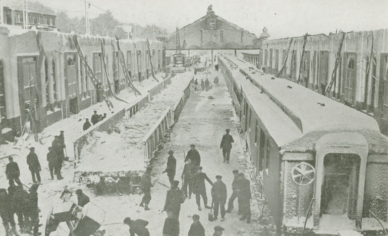 Explosion : 9. Halifax Railway Station, in which 60 persons were killed by falling roof
