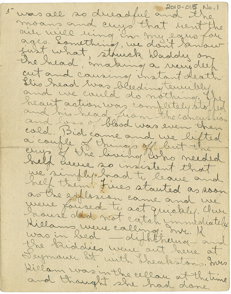 Letter from Ethel Jane Bond to Murray Kellough, 16 December 1917