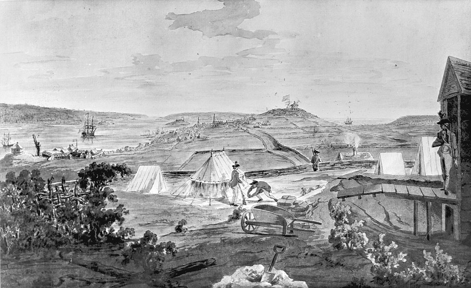 Halifax from Fort Needham, ca. 1780