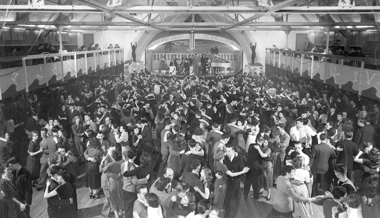 Olympic Gardens Dance Hall, Hunter Street, Halifax, ca. 1948