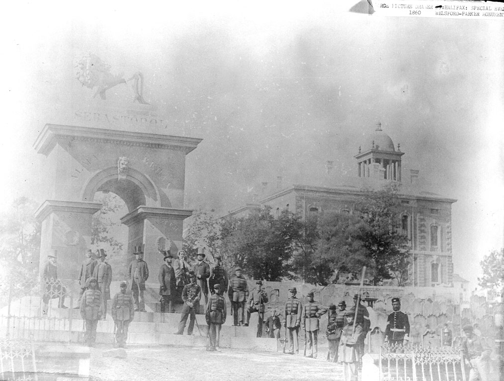 Inauguration of the Welsford-Parker Monument, Halifax, 17 July 1860