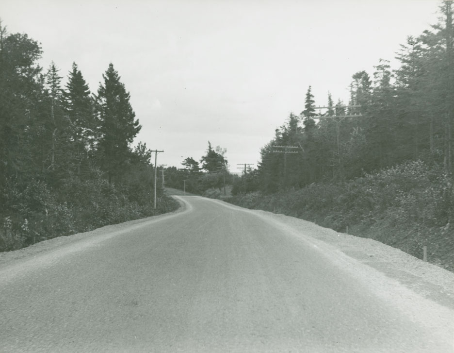 Middle Sackville - Mount Uniacke Route No. 1, Middle Sackville looking towards Halifax