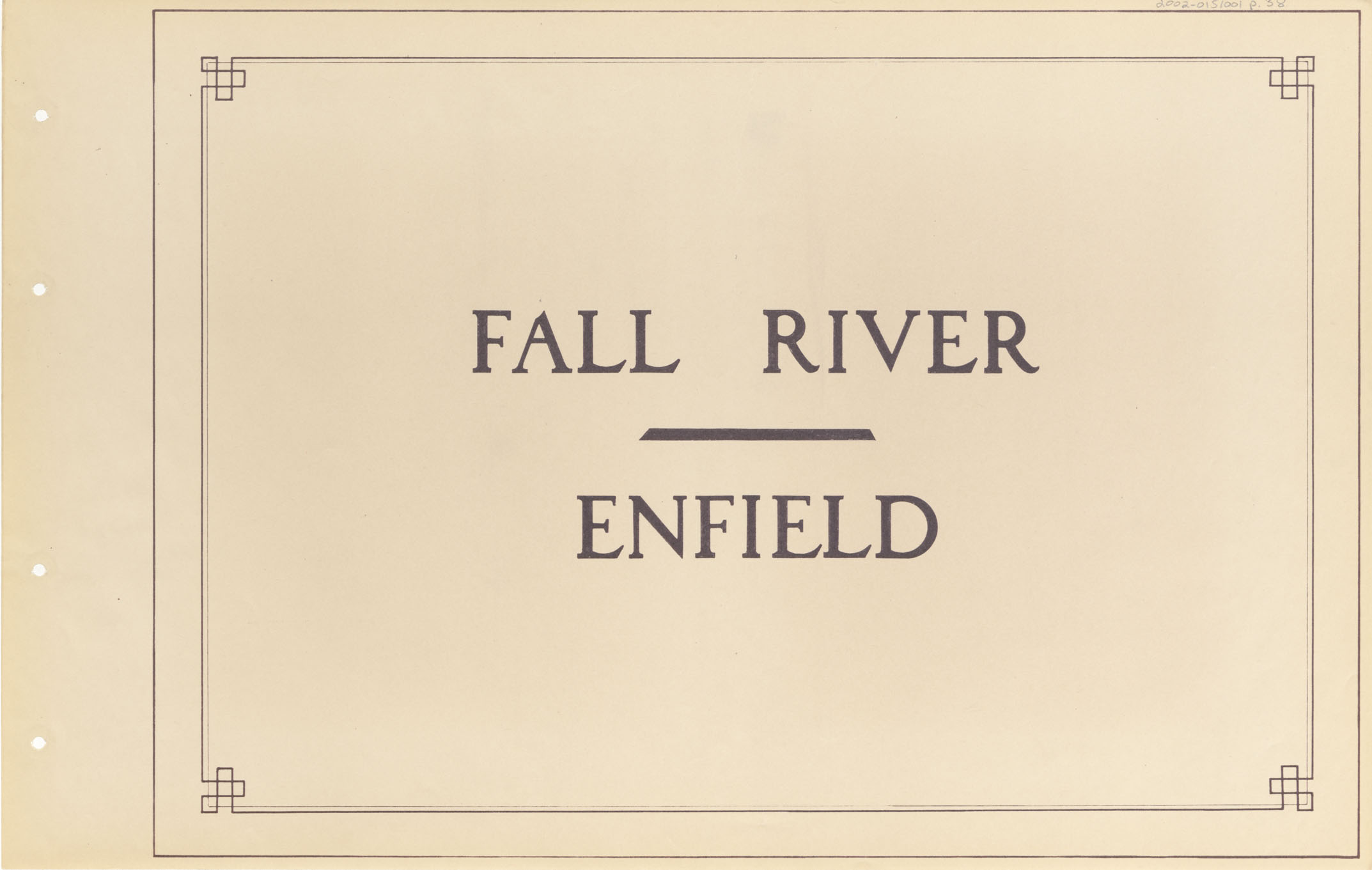 Fall River - Enfield