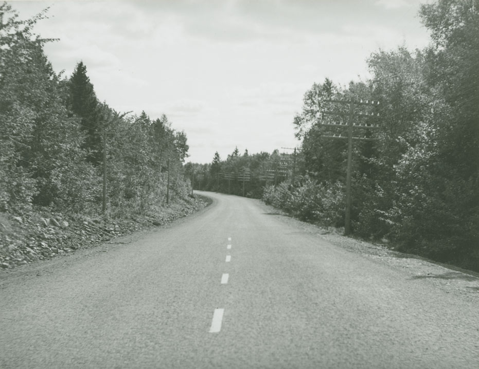 Fall River - Enfield Route No. 2, near Grand Lake looking South