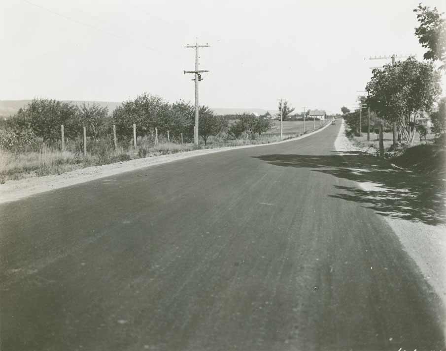 Bridgetown - Annapolis Route No. 1, Tupperville looking East