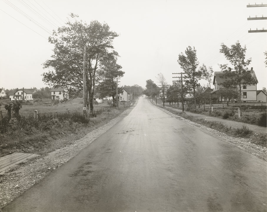 Highways : Walls Corner - Birchtown Route No. 3, Shelburne Looking East
