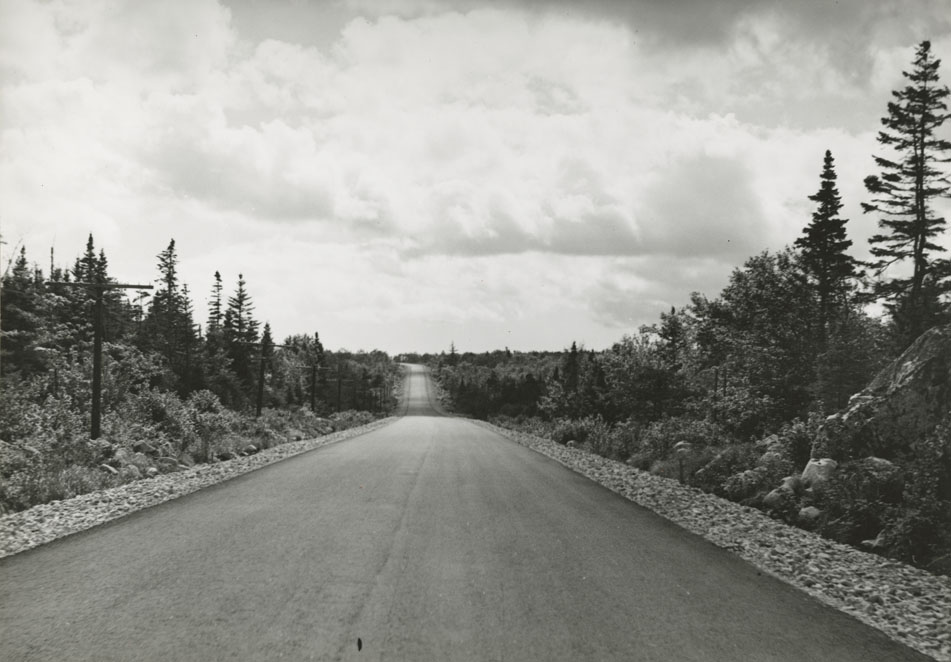 Highways : Birchtown - Atwood Brook, 2.4 Miles West of Birchtown