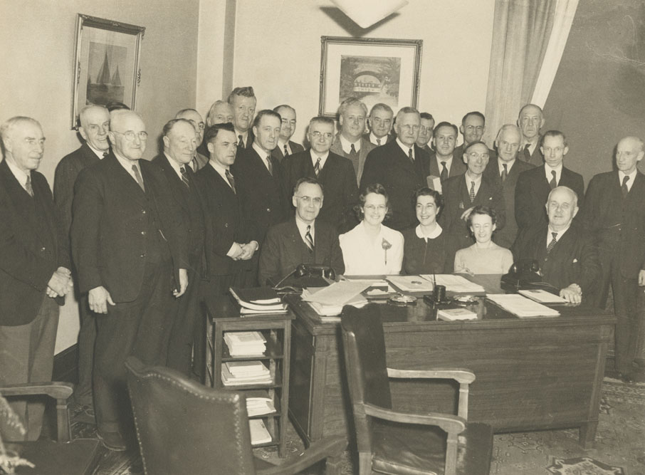 Department of Highways and Public Works Staff, 1943