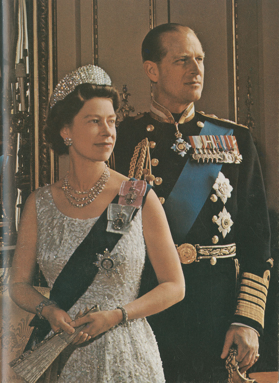 HM Queen Elizabeth and HRH Prince Philip