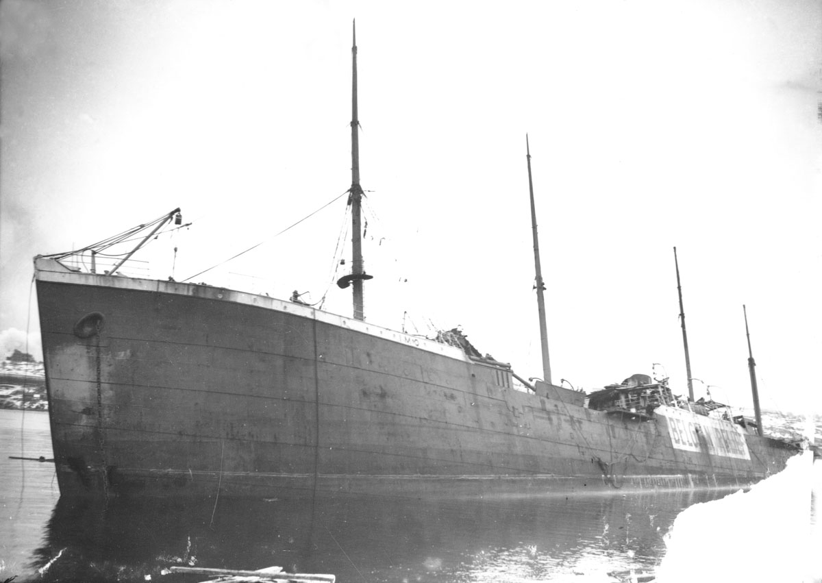 MacAskill : Imo</i> in Halifax Harbour after Explosion