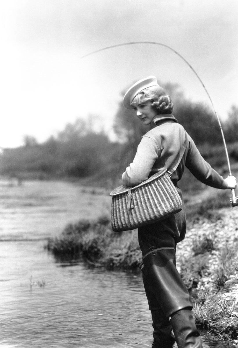 Ретро картинки о рыбалке