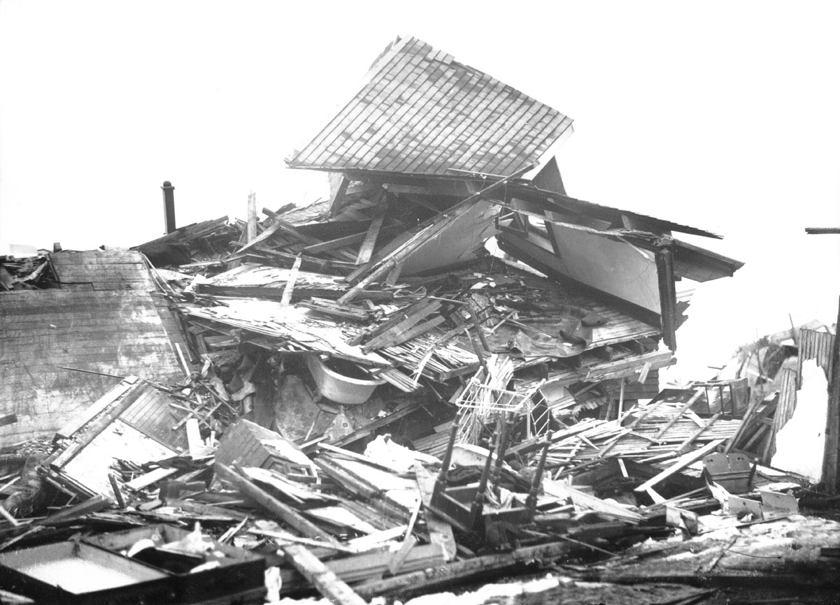 MacAskill : Wrecked home in Richmond after Halifax Explosion