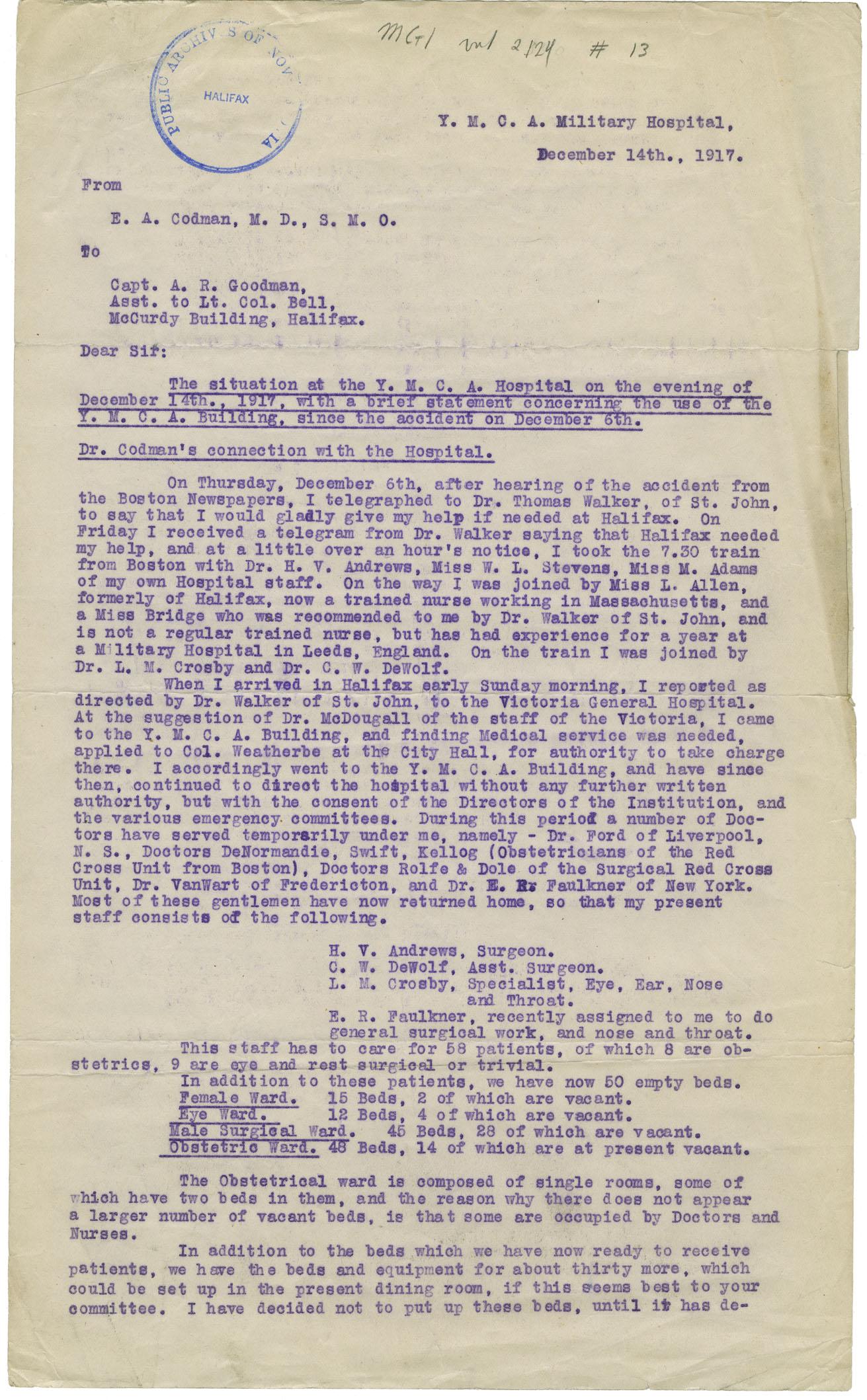 Nova Scotia Archives - Archibald MacMechan