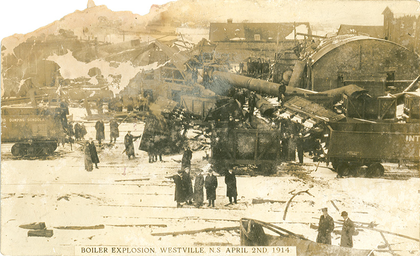 MeninMines : Boiler Explosion, Westville, NS April 2nd, 1914