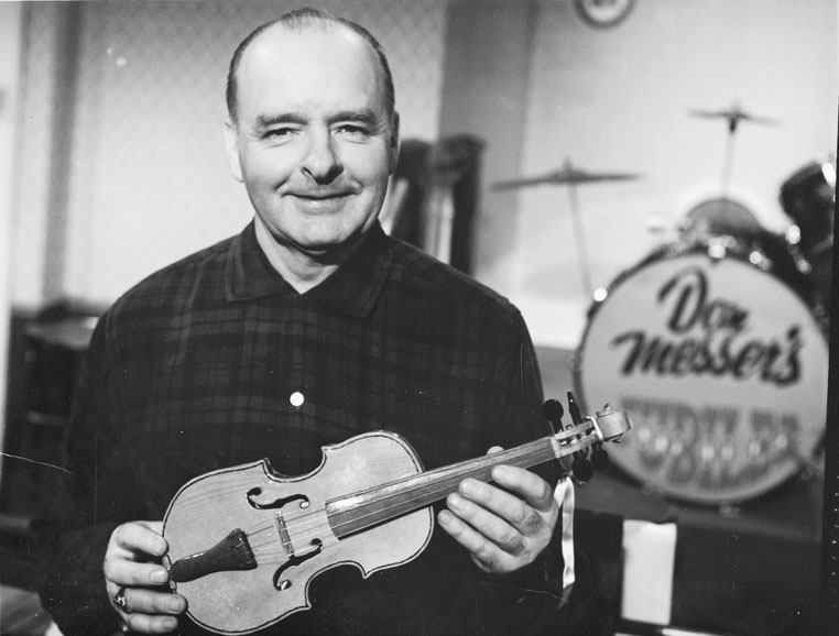 Don Messer with fiddle