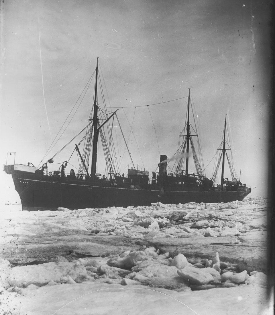 CS <i>Minia</i> in ice
