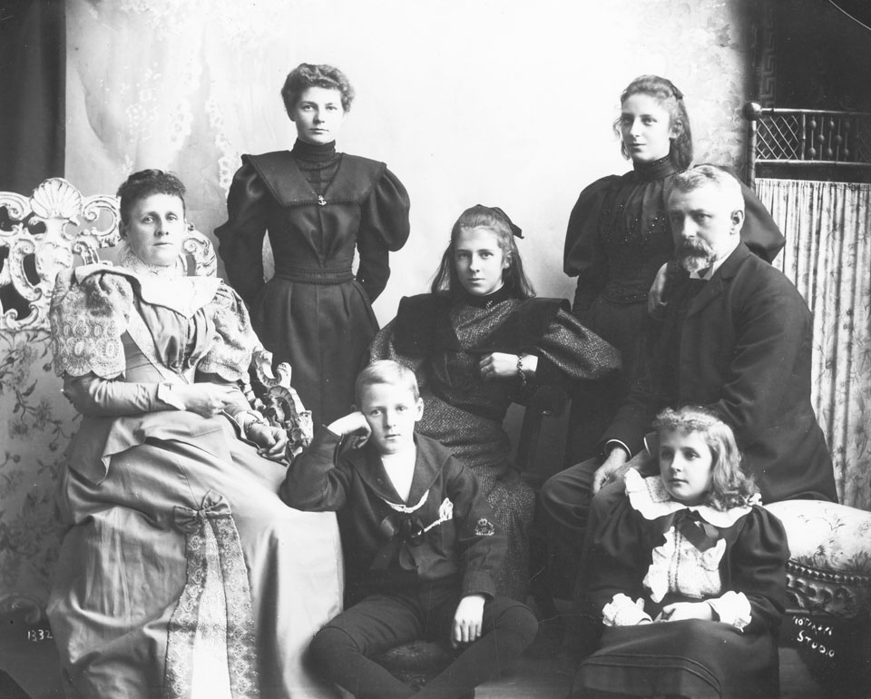 Hon. W. S. Fielding and Family