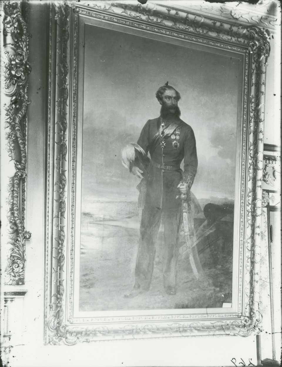 Sir John Cardley Wilmot Inglis, photograph of a painting by William Gush