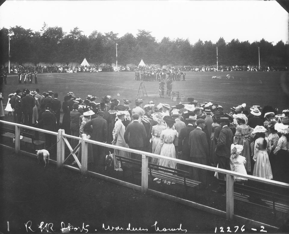 Royal Canadian Rifles Band, Wanderers Grounds, Halifax, Nova Scotia
