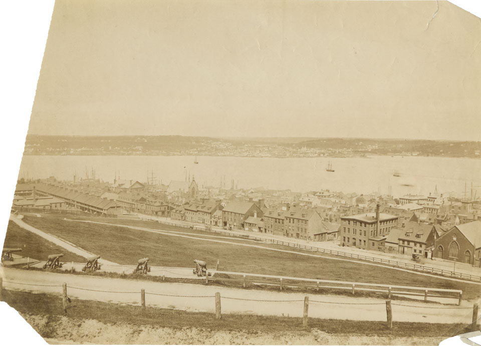 Halifax, View Northeast from Citadel