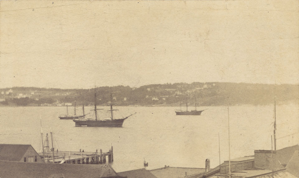 Navy ships, Halifax Harbour