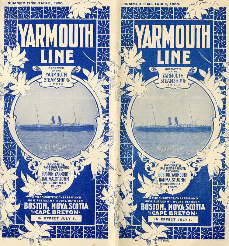 ''Summer Time-Table, 1900. The Yarmouth Line''