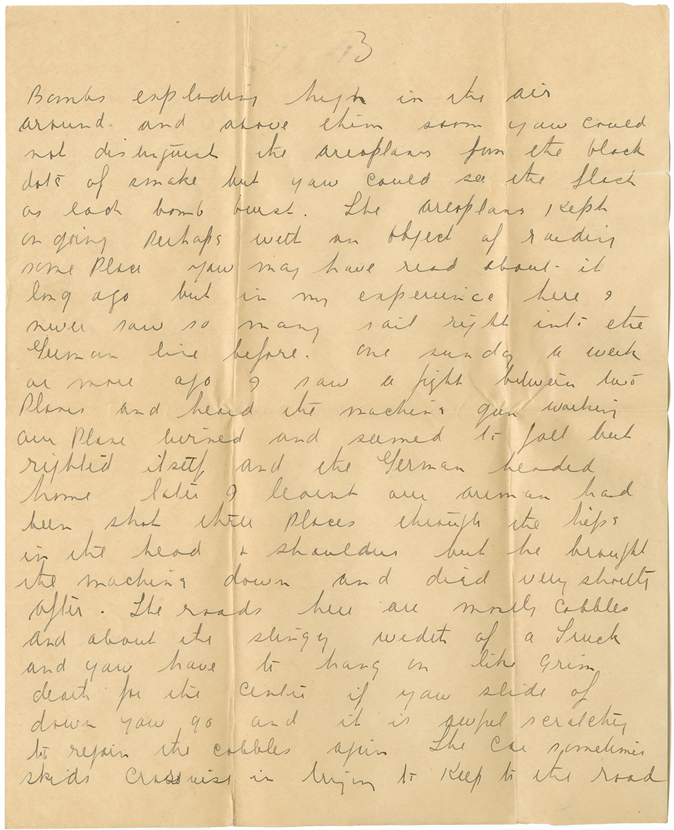 Letter from Pte. Al. Fraser to Mrs. Clarence [Edna] Hubley, Dec. 29, 1915