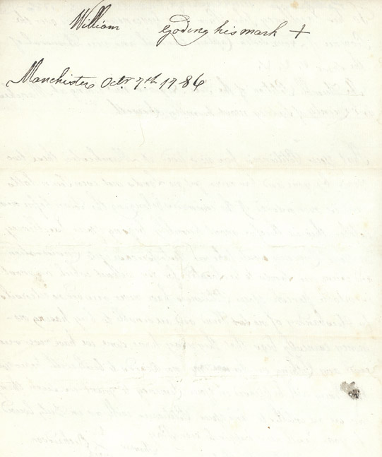 Land petition from black settlers of Manchester