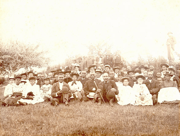 africanns : Church picnic, Weymouth Falls
