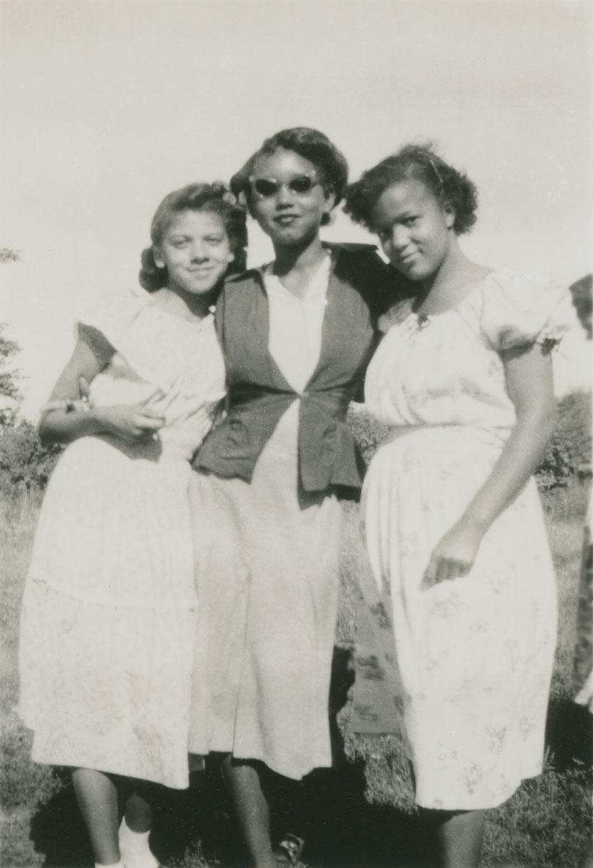 Three young women of Annapolis County